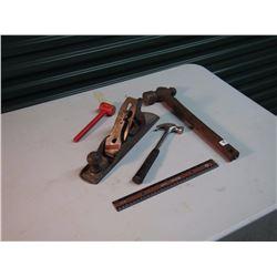 Stanley Handyman Planer & Hammers (3)