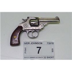 IVER JOHNSON , MODEL: SAFETY HAMMER AUTOMATIC , CALIBER: 32 SHORT