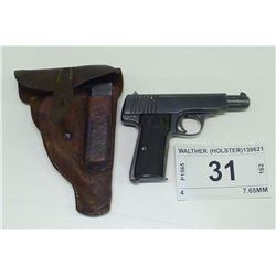 WALTHER (HOLSTER) , MODEL: 4 , CALIBER: 7.65MM