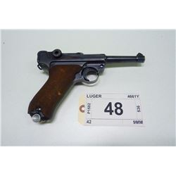 LUGER , MODEL: P08 DATED 1939 , CALIBER: 9MM
