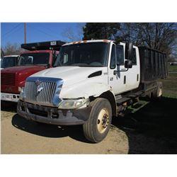 2005 INTERNATIONAL 4300 DUMP, VIN/SN:1HTMMAAR25H167285 - S/A, CREW CAB, DT466 ENGINE, A/T, AIR BRAKE