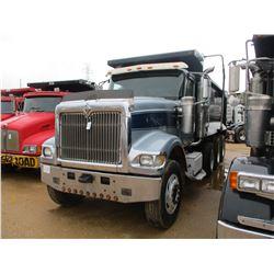 2007 INTERNATIONAL 5900i DUMP, VIN/SN:1HTXRSCR07J558397 - TRI-AXLE, 466 HP CAT C15 DIESEL ENGINE, 8L