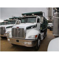 2006 PETERBILT 335 DUMP, VIN/SN:2NPLLZPX36M631144 - TRI-AXLE, 315HP CUMMINS ISC DIESEL ENGINE, 8LL T