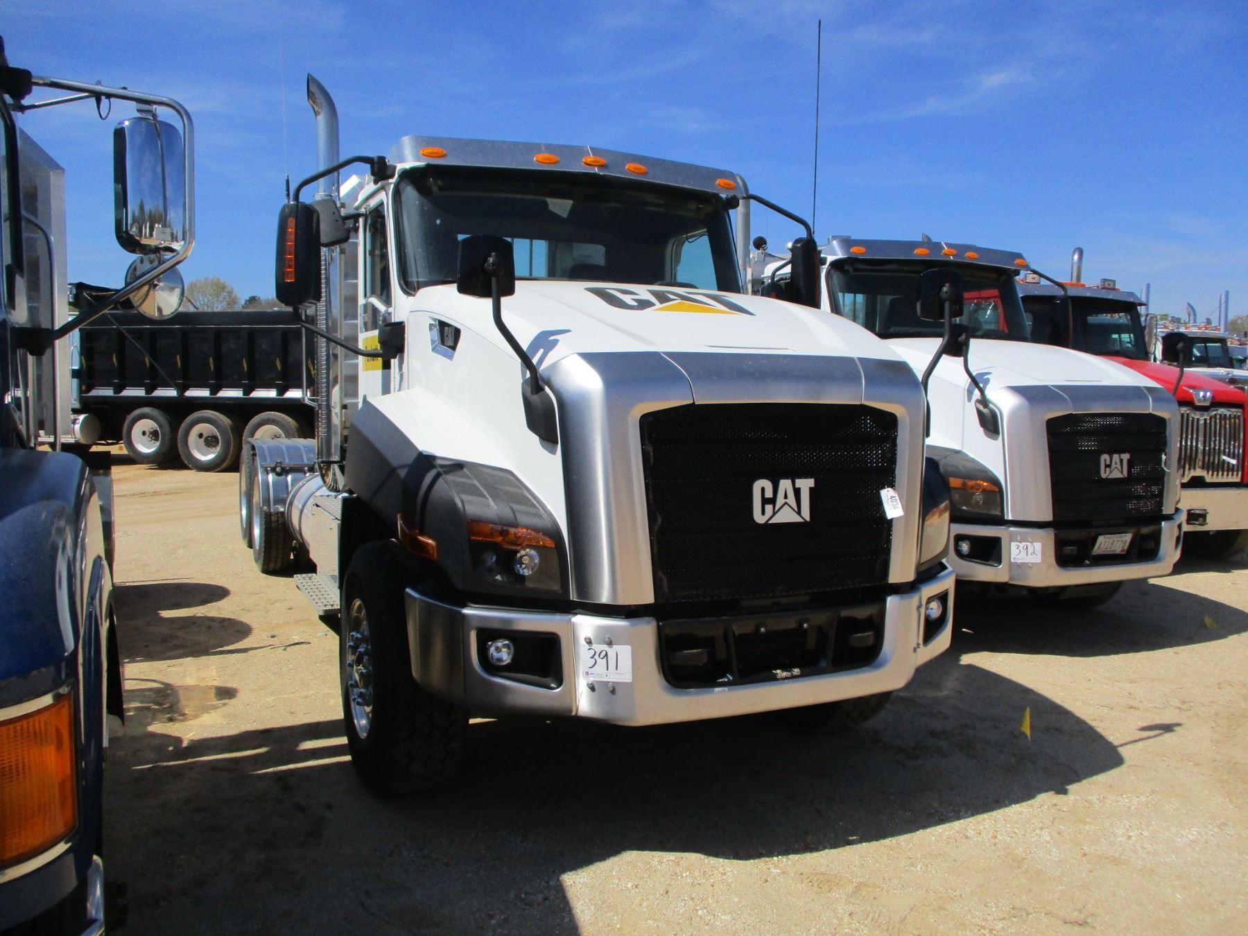 2016 Cat Ct660l Truck Tractor  Vin  Sn 3hsjktkt3gn268038