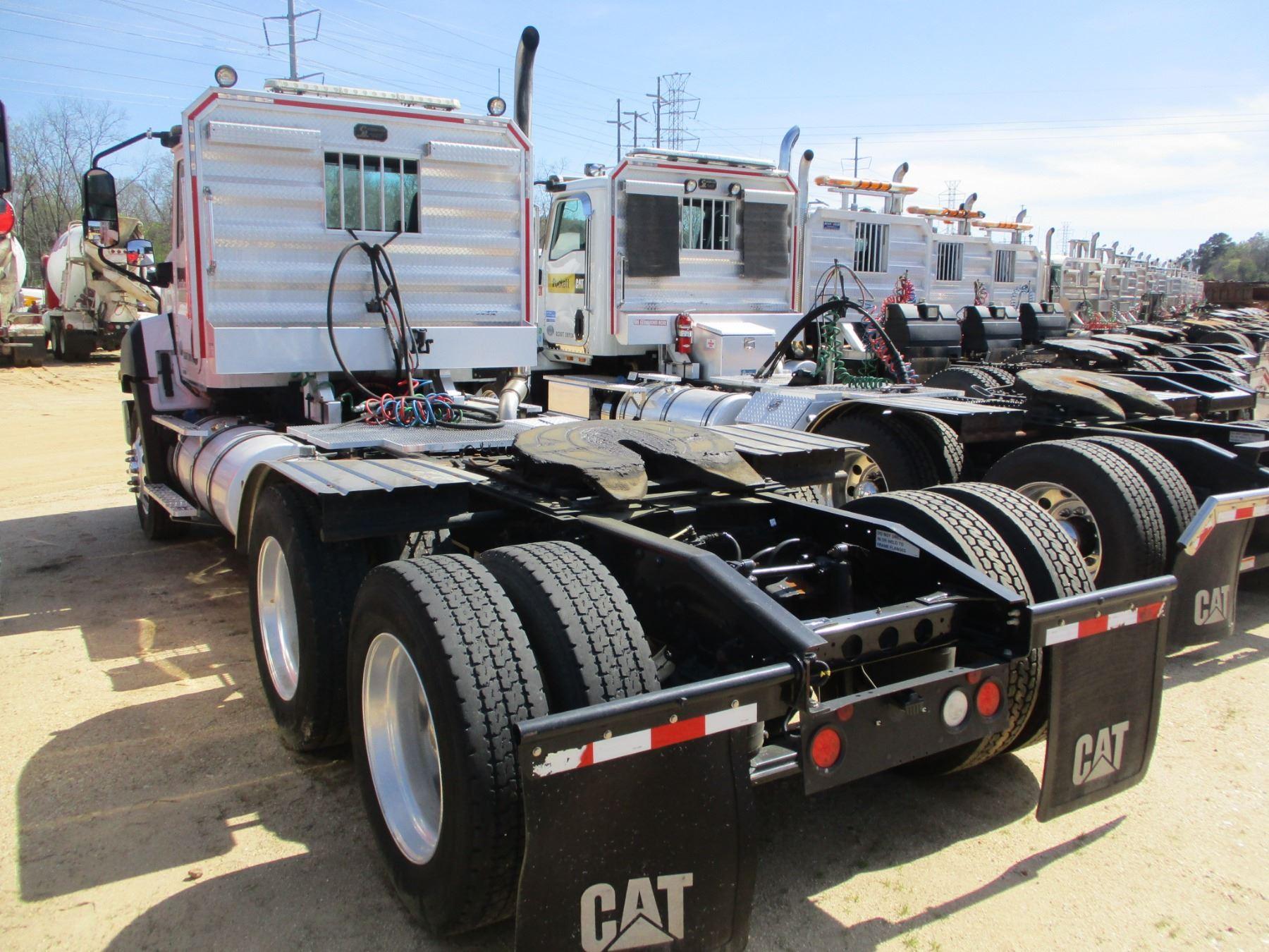 2015 Cat Ct660s Truck Tractor  Vin  Sn 3hsjgtkt1fn528419