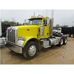 2011 PETERBILT 367 TRUCK TRACTOR, VIN/SN:1XPTDP9X9BD131674 - T/A, 485 HP PACCAR MX13 ENGINE, 10 SPEE
