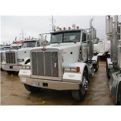 2007 PETERBILT 378 TRUCK TRACTOR, VIN/SN:1XPFDB9X57N685148 - T/A, CAT C15 470 HP ENGINE, 38K REARS,
