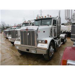 2007 PETERBILT 378 TRUCK TRACTOR, VIN/SN:1XPFDB9X67N685126 - T/A, CAT C15 470 HP ENGINE, 38K REARS,