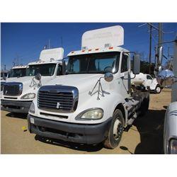 2006 FREIGHTLINER TRUCK TRACTOR, VIN/SN:1FUJA6CK16LW32099 - T/A, S60 DETROIT DIESEL ENGINE, 10 SPEED