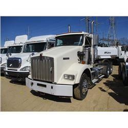 2005 KENWORTH T800 TRUCK TRACTOR, VIN/SN:1XKDDB9XX5J094914 - T/A, 475 HP C15 CAT DIESEL ENGINE, 10 S