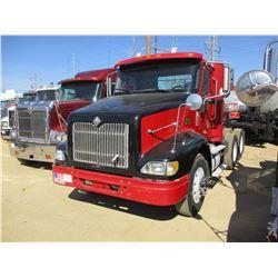 2006 INTERNATIONAL 9200i TRUCK TRACTOR, VIN/SN:2HSCESBR86C237995 - T/A, CAT C13 ENGINE, 10 SPEED TRA