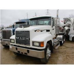 2004 MACK CH613 TRUCK TRACTOR, VIN/SN:1M1AA18Y64N156098 - T/A, 427 HP MACK DIESEL ENGINE, 10 SPEED T