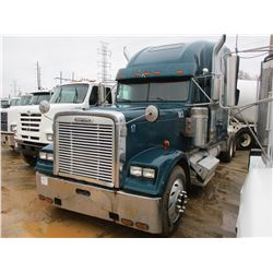 1998 FREIGHTLINER TRUCK TRACTOR, VIN/SN:1FUPCSZB3WP924317 - T/A, 12.7L DETROIT 60 SERIES ENGINE, 40K