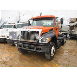 2005 INTERNATIONAL 7600 TRUCK TRACTOR, VIN/SN:1HSWXAHR85J028510 - T/A, CUMMINS DIESEL ENGINE, A/T, 2