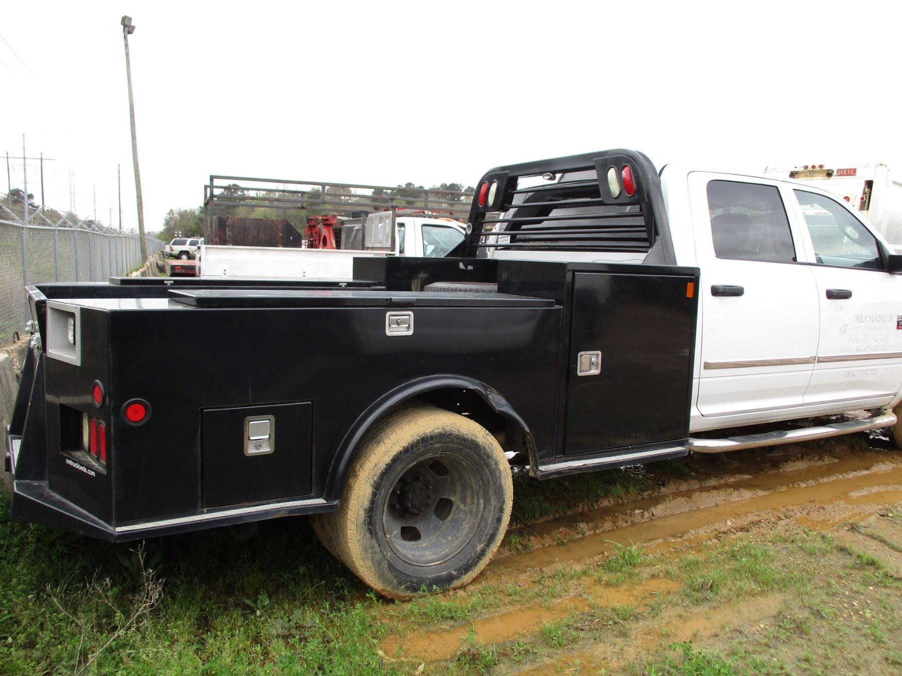 2012 Dodge Ram 3500 Flatbed Truck Vin Sn 3c7wdscl2cg304157 Crew Cab Cummins Turbo Diesel Engine