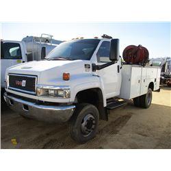 2006 GMC 4500 SERVICE TRUCK, VIN/SN:1GDE4C3266F433347 - S/A, 4X4, DURAMAX DIESEL ENGINE, A/T, KNAPHE