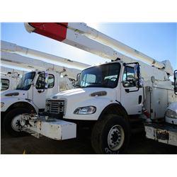 2007 FREIGHTLINER M2 BUCKET TRUCK, VIN/SN:1FVHCYDC07HX27426 - T/A, 250HP CAT C7 DIESEL ENGINE, ALLIS