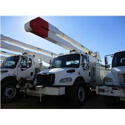 2007 FREIGHTLINER M2 BUCKET TRUCK, VIN/SN:1HVACYDC37HX28815 - S/A, 250 HP CAT C7 ENGINE, ALLISON A/T