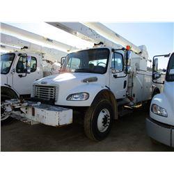 2007 FREIGHTLINER M2 BUCKET TRUCK, VIN/SN:1FYACYDC97HX11405 - S/A, 250HP CAT C7 ENGINE, ALLISON A/T,