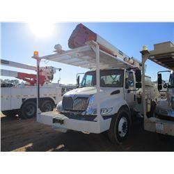 2012 INTERNATIONAL DURASTAR BUCKET TRUCK, VIN/SN:3HAMMAAN3CL586590 -S/A, IHC MAXXFORCE ENGINE, ALLIS
