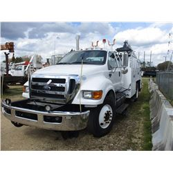 2011 FORD F750 SUPER DUTY SERVICE TRUCK, VIN/SN:3FRWX7FB7BV126974 - EXTENDED CAB, CUMMINS DIESEL ENG