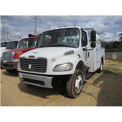 2010 FREIGHTLINER SERVICE TRUCK, VIN/SN:1FVACV7ADAS9969 - S/A, CUMMINS DIESEL ENGINE, A/T, TOOL BODY