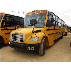 2008 THOMAS SCHOOL BUS, VIN/SN:4UZABRCS88CY48326 - 49 PASSENGER, A/T, A/C, ODOMETER READING 124,775