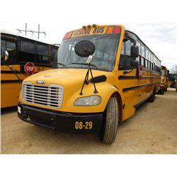 2008 THOMAS SCHOOL BUS, VIN/SN:4UZABRCS58CY48283 - 49 PASSENGER, A/T, A/C, ODOMETER READING 181,457