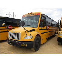 2008 THOMAS SCHOOL BUS, VIN/SN:4UZABRCSXECY48344 - 49 PASSENGER, A/T, A/C, ODOMETER READING 107,293