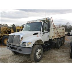 2003 INTERNATIONAL 7400 DUMP, VIN/SN:1HTWGADTX3J072387 - T/A, DIESEL ENGINE, AUTO, OX BODIES BED (DO