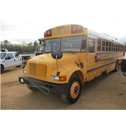 2002 INTERNATIONAL SCHOOL BUS, VIN/SN:1HVBRAAN02A921253 - INT DT466 ENGINE, A/T 52 PASSENGER, TWIN C