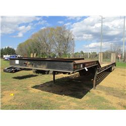 2000 HOMEMADE LOWBOY TRAILER, VIN/SN:ALY0HM00700016968 - TRI-AXLE, 46', DOVETAIL, RAMPS, MOTORGRADER