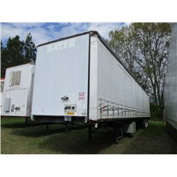 2003 UTILITY CURTAIN SIDE TRAILER, VIN/SN:1UYTS253333A103001 - 53', 275/80R22.5 TIRES