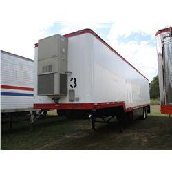 1983 BUDD OFFICE TRAILER, VIN/SN:VA25DE204437 - 44' LENGTH, T/A, BARD A/C UNIT, TOOL BOXES, SLID OUT