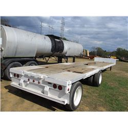"""STEPDECK TRAILER, - T/A, SPREAD AXLE, 50' LENGTH, 104"""" WIDE, 255/70R22.5 TIRES"""
