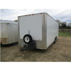 2009 DIAMOND CARGO ENCLOSED TRAILER, VIN/SN:5UZBE242290D010297 - 24' LENGTH, 8' WIDE, OFFICE, REAR R