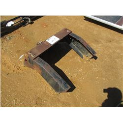 METAL PLATE W/TRAILER HITCH