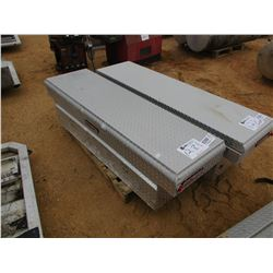 ABOVE BED ALUMINUM TOOL BOX