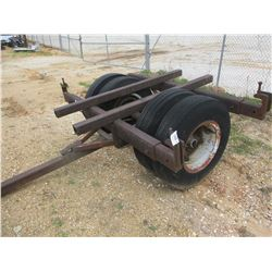 TOWABLE DOLLY S/A DUAL WHEELS