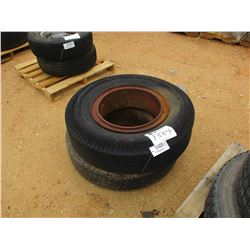 (2) 10.00-20 TIRES AND RIMS