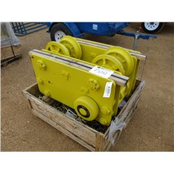 CHESTER TROLLEY CHAIN HOIST, - 20 TON (UTILITY COMPANY OWNED)