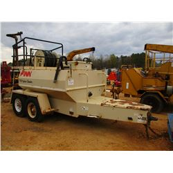 FINN T90T HYDRO SEEDER, VIN/SN:2860 - PENTLE HITCH, T/A TRAILER LT235/85R16 TIRES, METER READING 233