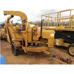 VERMEER 1250 CHIPPER, - DIESEL ENGINE ON S/A TRAILER, METER READING 2,798 HOURS (COUNTY OWNED)