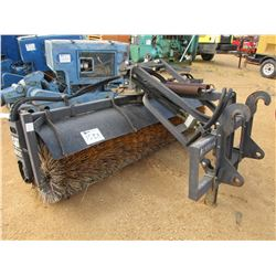 1- CAT 8' BROOM CAT BACKHOE (COUNTY OWNED)