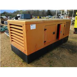 HIMOINSA GENERATOR, - 56KW SET 208/120 VOLTS, 60HZ DIESEL ENGINE