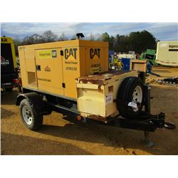 CAT XQ20P2 GENERATOR, - CAT DIESEL ENGINE, TRAILER MTD
