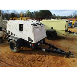 2005 INGERSOLL-RAND AIR SOURCE PLUS AIR COMPRESSOR, VIN/SN:359759UHPB1D - DIESEL ENGINE, METER READI