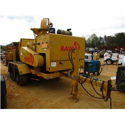 BAYCO RC20XP CHIPPER, VIN/SN:1R98818217M21001 - JOHN DEERE DIESEL ENGNE, T/A TRAILER, 12-16.5 TIRES