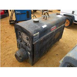 LINCOLN CLASSIC 300D WELDER/GENERATOR, - DIESEL ENGINE, METER READING 1,393 HOURS