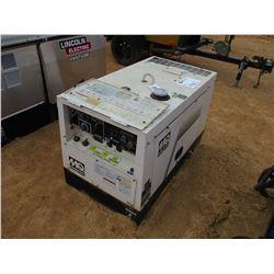 MULTIQUIP SDW-2255SA WELDER/GENERATOR DIESEL ENGINE, METER READING 913 HOURS